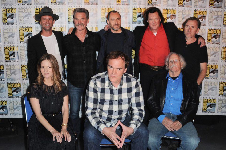 El equipo de 'The Hateful Eight' en la Comic-Con 2015