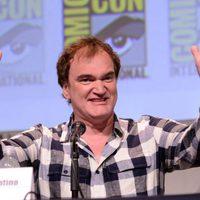 Quentin Tarantino en la Comic-Con 2015