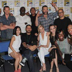 El equipo de 'Escuadrón Suicida' en la Comic-Con 2015