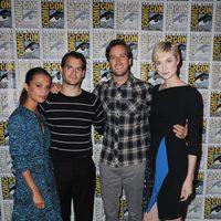 El equipo de 'Operación U.N.C.L.E.' en la Comic-Con 2015
