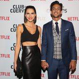 Joaquín Ferreira en la premiere de 'Club de cuervos', la nueva serie de Netflix