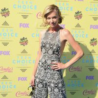 La actriz Portia de Rossi posa en los Teen Choice Awards 2015