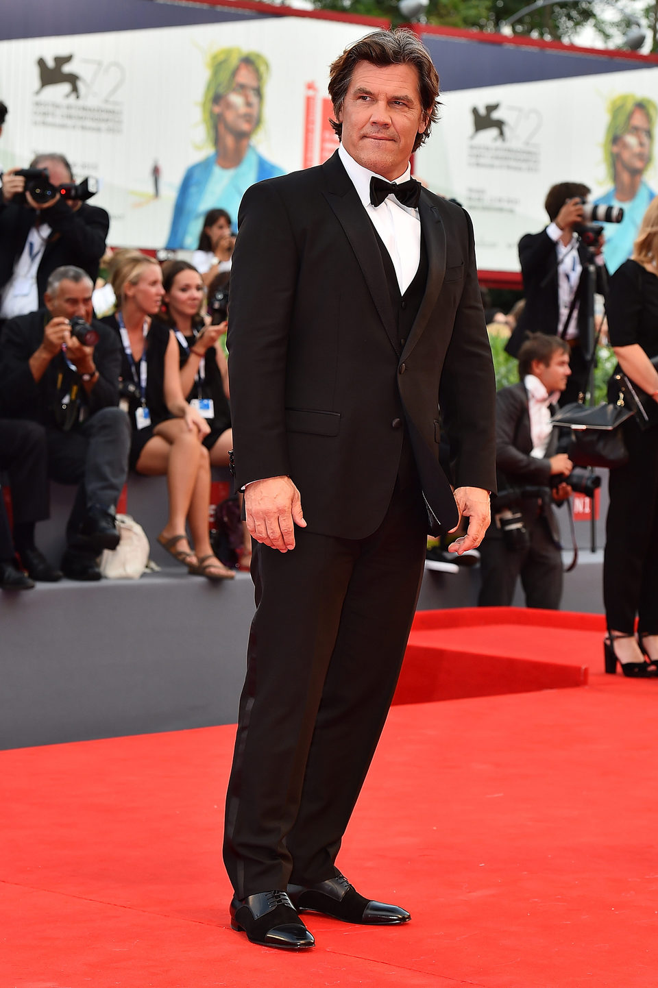 Josh Brolin en la 72ª edición del Festival de Venecia