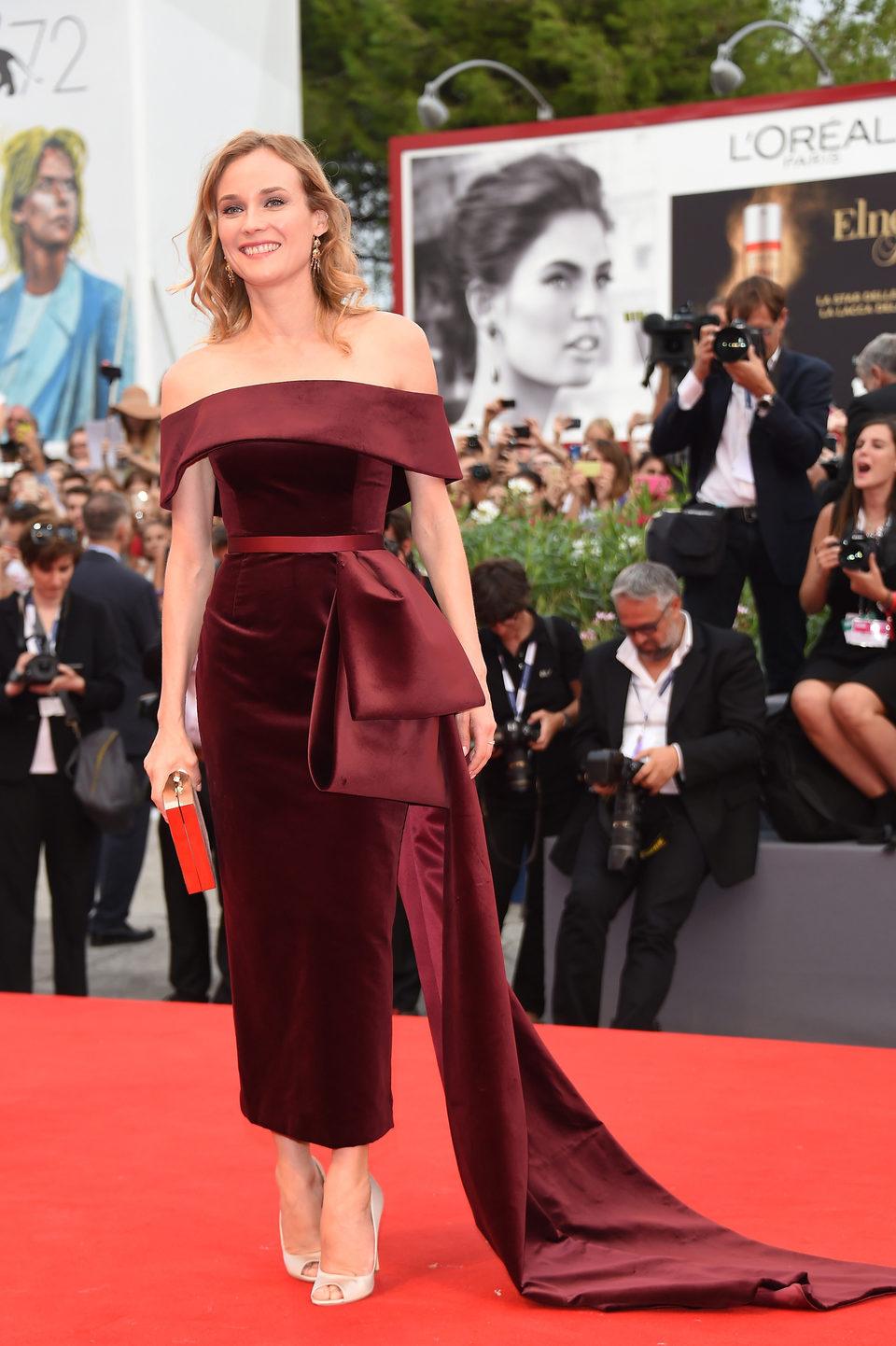 Diane Kruger en la 72ª edición del Festival de Venecia