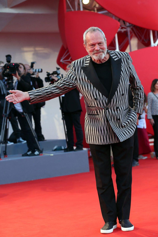 Terry Gilliam en la 72ª edición del Festival de Venecia
