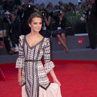 Alicia Vikander en la 72ª edición del Festival de Venecia