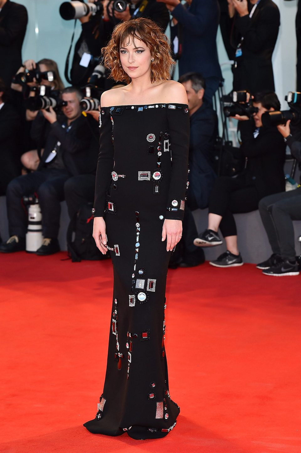 Dakota Johnson en la 72ª edición del Festival de Venecia