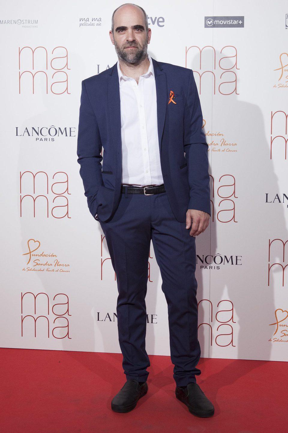 Luis Tosar en la premiere de 'Ma ma' en Madrid