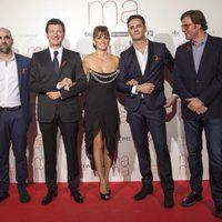 El equipo de 'Ma ma' en la premiere en Madrid