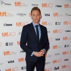 Tom Hiddleston en el Festival de Toronto 2015