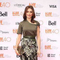 Rachel Weisz en el Festival de Toronto 2015