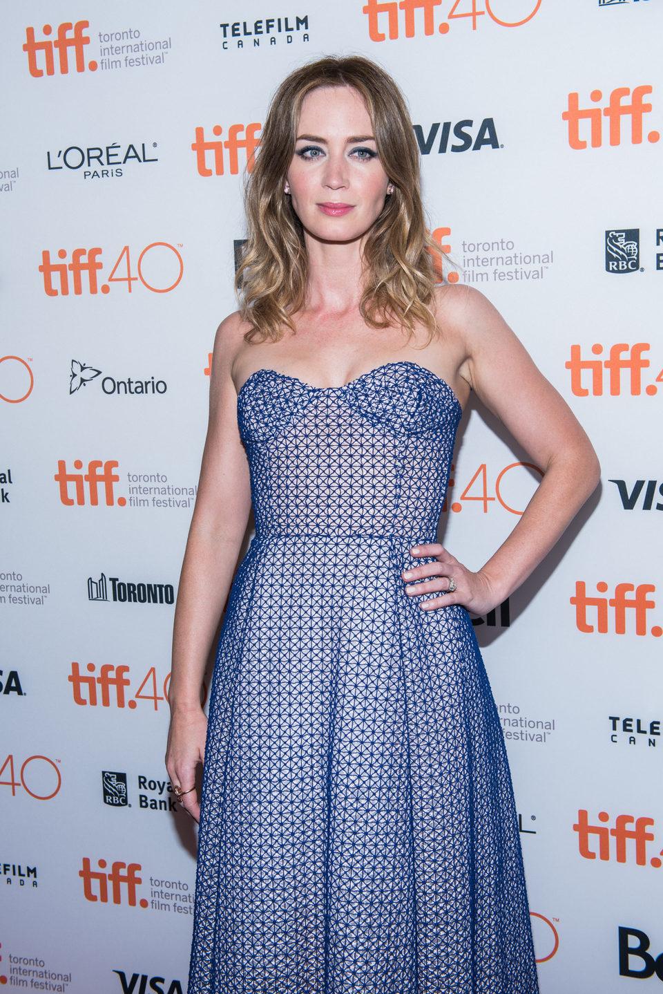 Emily Blunt en el Festival de Toronto 2015