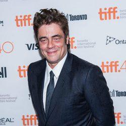 Benicio del Toro en el Festival de Toronto 2015