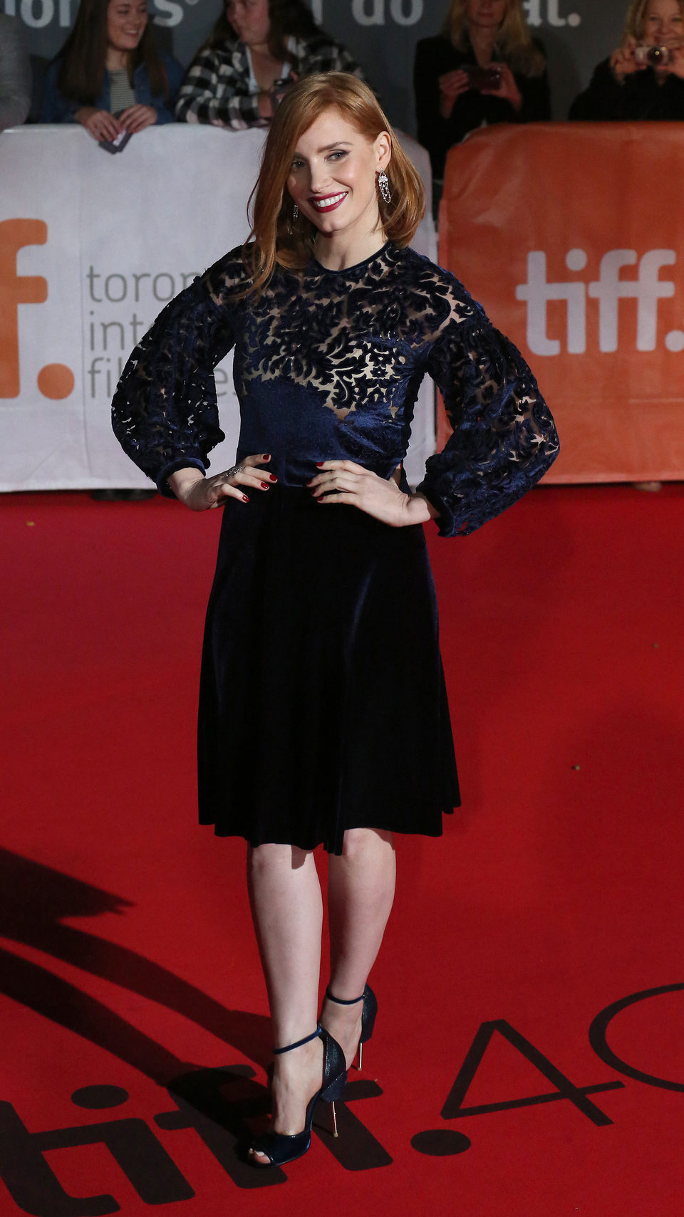Jessica Chastain en el Festival de Toronto 2015