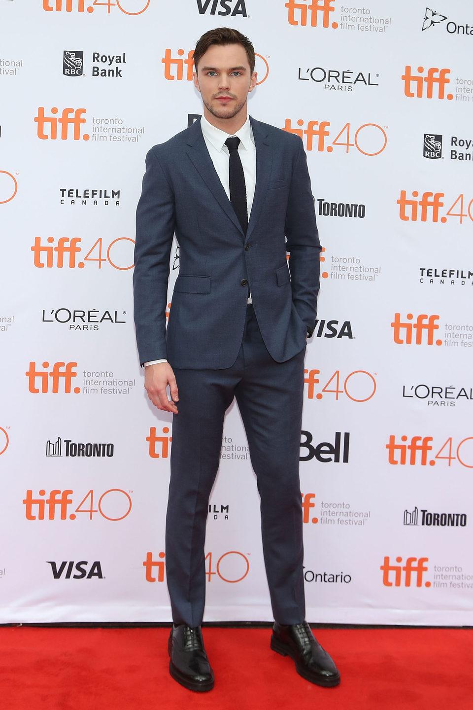 Nicholas Hoult en el Festival de Toronto 2015