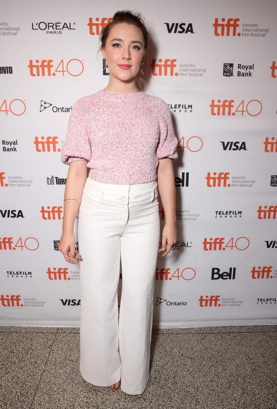 Saoirse Ronan en el Festival de Toronto 2015