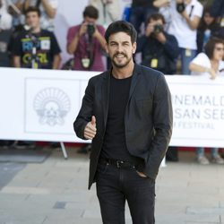 Mario Casas en el Festival de Cine de San Sebastián 2015