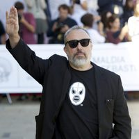 Álex de la Iglesia at the San Sebastian Film Festival 2015