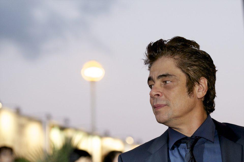 Benicio del Toro en el Festival de Cine de San Sebastián 2015