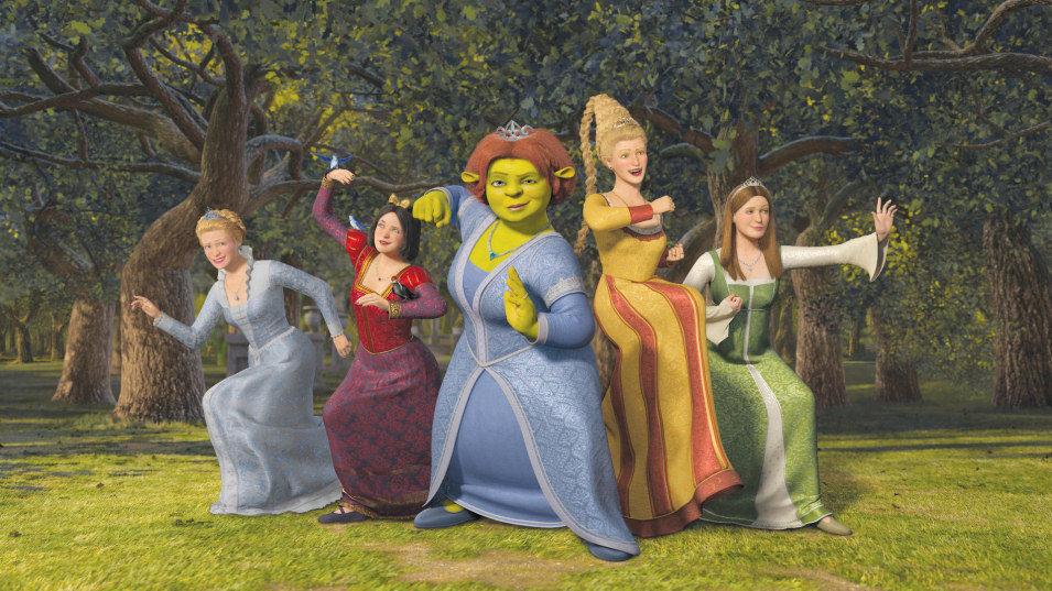 Shrek Tercero, fotograma 1 de 33