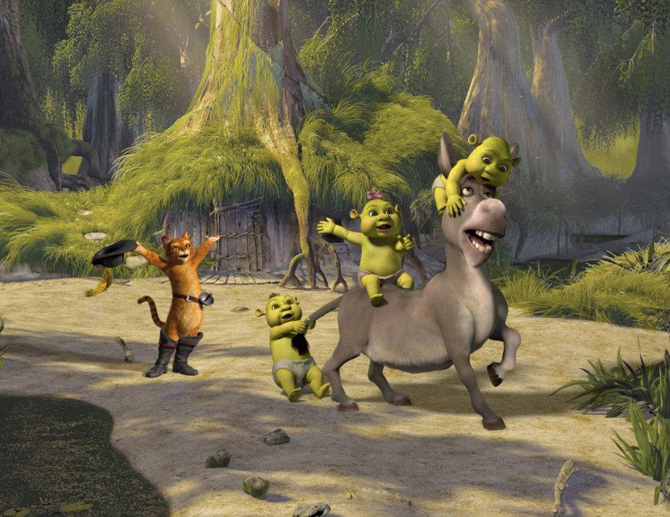 Shrek Tercero, fotograma 2 de 33