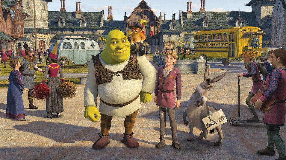 Shrek Tercero, fotograma 4 de 33
