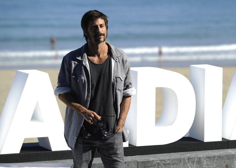Hugo Silva en el Festival de Cine de San Sebastián 2015