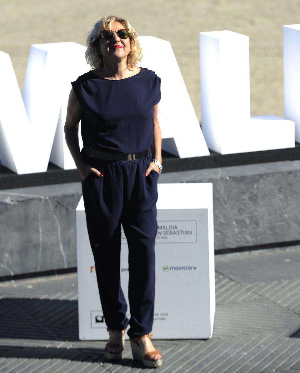 Carmen Machi en el Festival de Cine de San Sebastián 2015