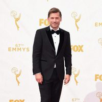 Nikolaj Coster-Waldau at the red carpet of the Emmys 2015