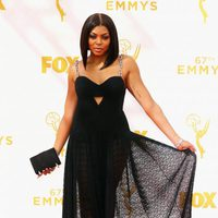 Taraji P. Henson at the 2015 Emmys red carpet