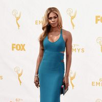 Laverne Cox at the red carpet before the Emmy 2015 awards