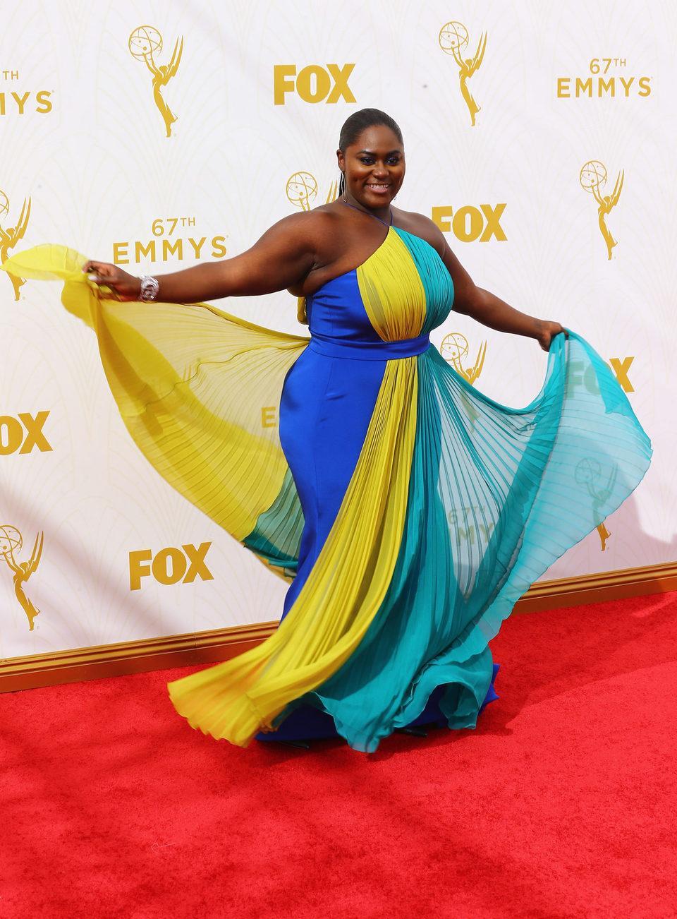 Danielle Brooks en la alfombra roja de los Emmy 2015