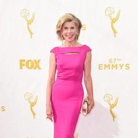 Christine Baranski en la alfombra roja de los Premios Emmy 2015