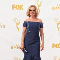 Jessica Lange at the 2015 Emmy awards red carpet