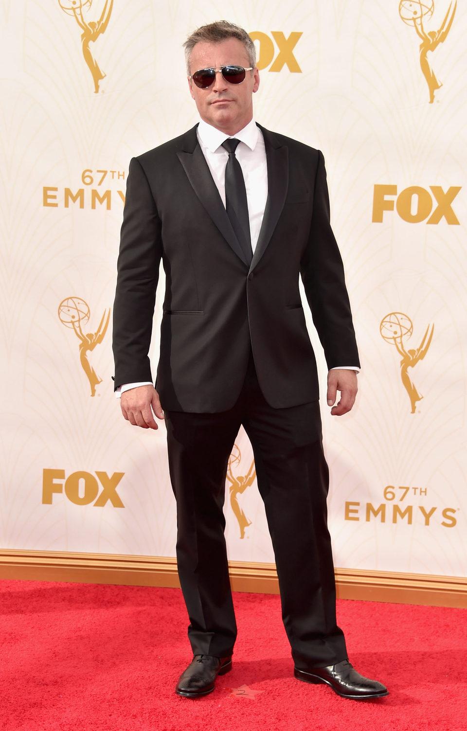 Matt LeBlanc en la alfombra roja de los Premios Emmy 2015