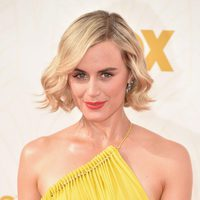 Taylor Schilling at the 2015 Emmy awards red carpet