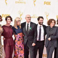 El equipo de 'Transparent' en la alfombra roja de los Premios Emmy 2015