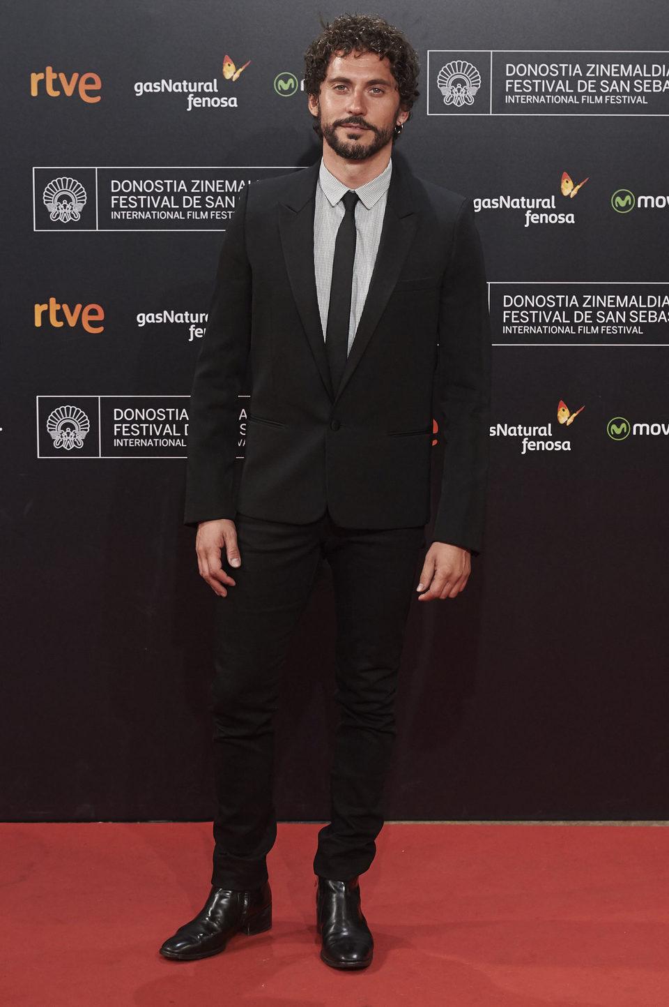 Paco León asiste a la alfombra roja de la 63 ceremonia de clausura del Festival de Cine de San Sebastián