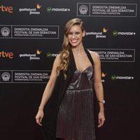 Manuela Velles asiste a la ceremonia de clausura de la alfombra roja de la 63ª edición del Festival Internacional de Cine de San Sebastián