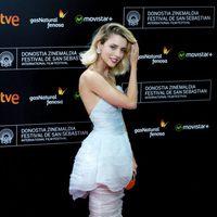 Leticia Dolera asiste a la alfombra roja de la 63ª ceremonia de clausura del Festival de Cine de San Sebastián