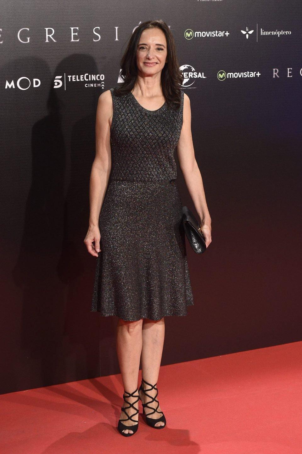 Ana Torrent en la Premiere de 'Regresión' en Madrid