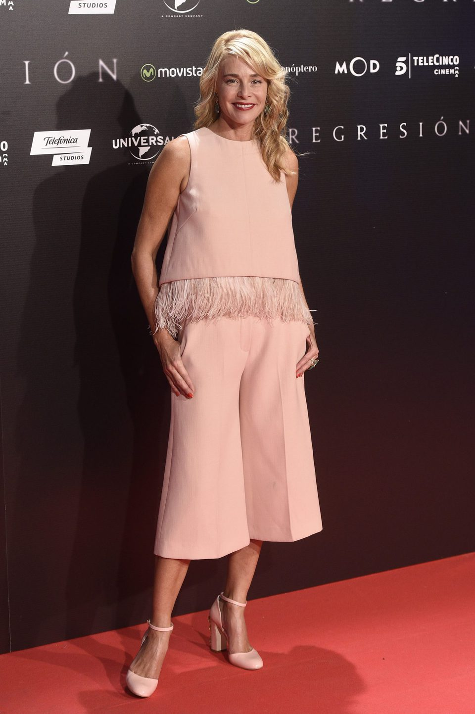 Belén Rueda en la Premiere de 'Regresión' en Madrid