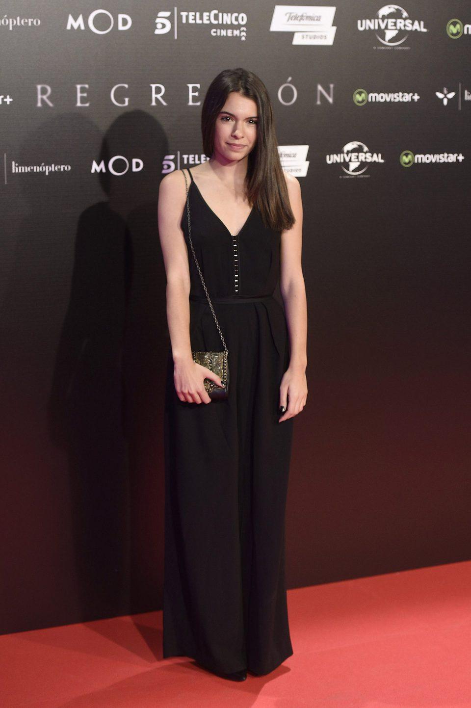 Claudia Traisac en la Premiere de 'Regresión' en Madrid
