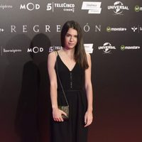Claudia Traisac en la Premiere de 'Regresión' en Madrid