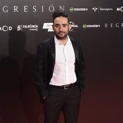 J. A. Bayona en la Premiere de 'Regresión' en Madrid