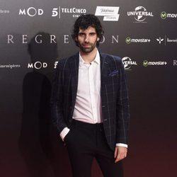 Tamar Novas en la Premiere de 'Regresión' en Madrid
