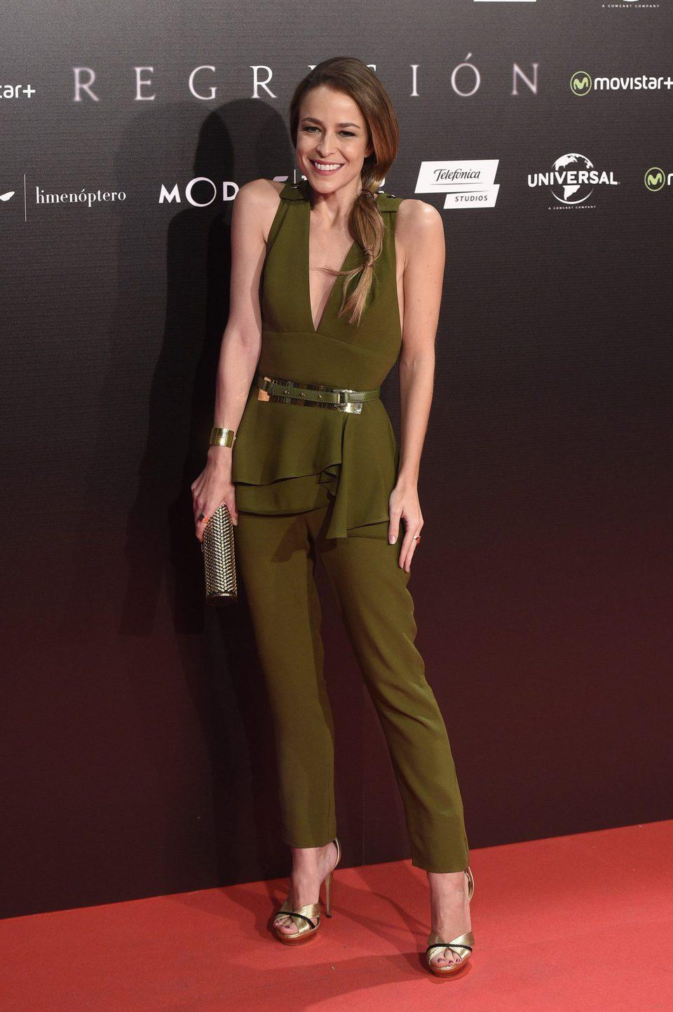 Silvia Abascal en la Premiere de 'Regresión' en Madrid