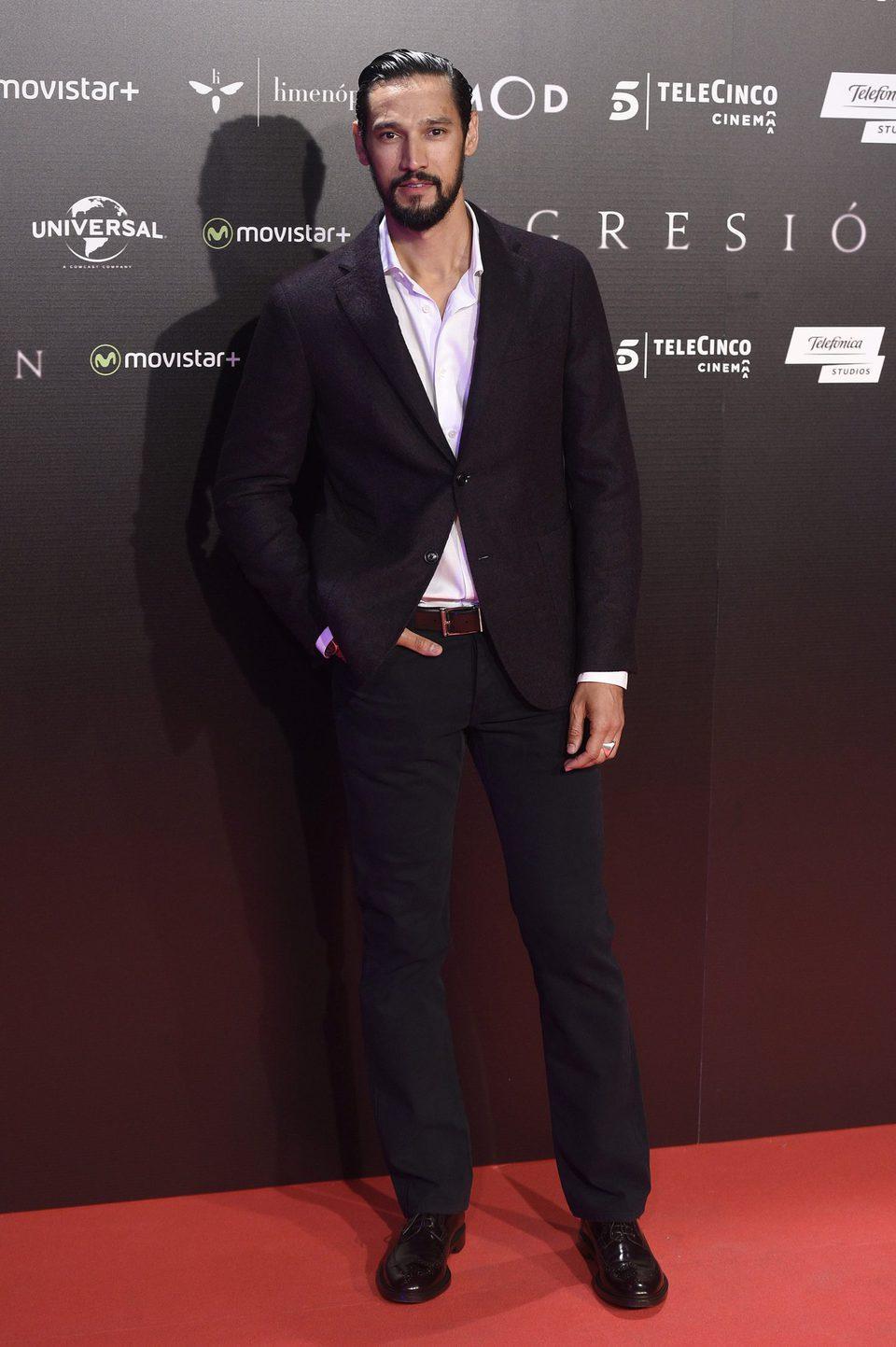 Stany Coppet en la Premiere de 'Regresión' en Madrid