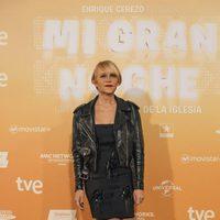 Antonia San Juan en la alfombra roja de la premiere de 'Mi gran noche'
