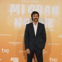 Hugo Silva en la alfombra roja de la premiere de 'Mi gran noche'